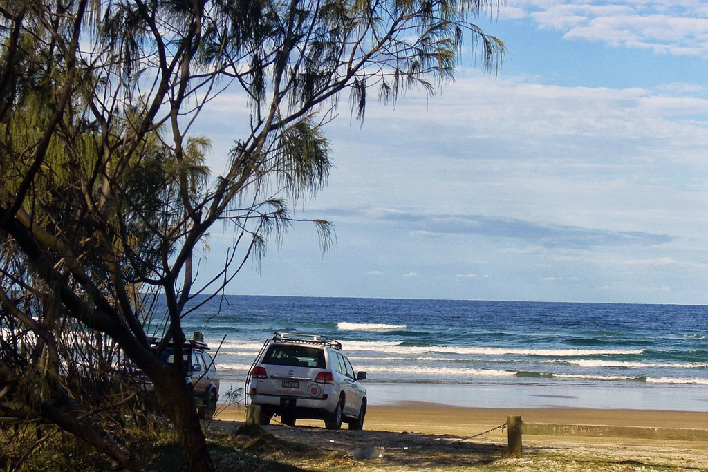 Rainbow Beach tourist destination Queensland, QLD