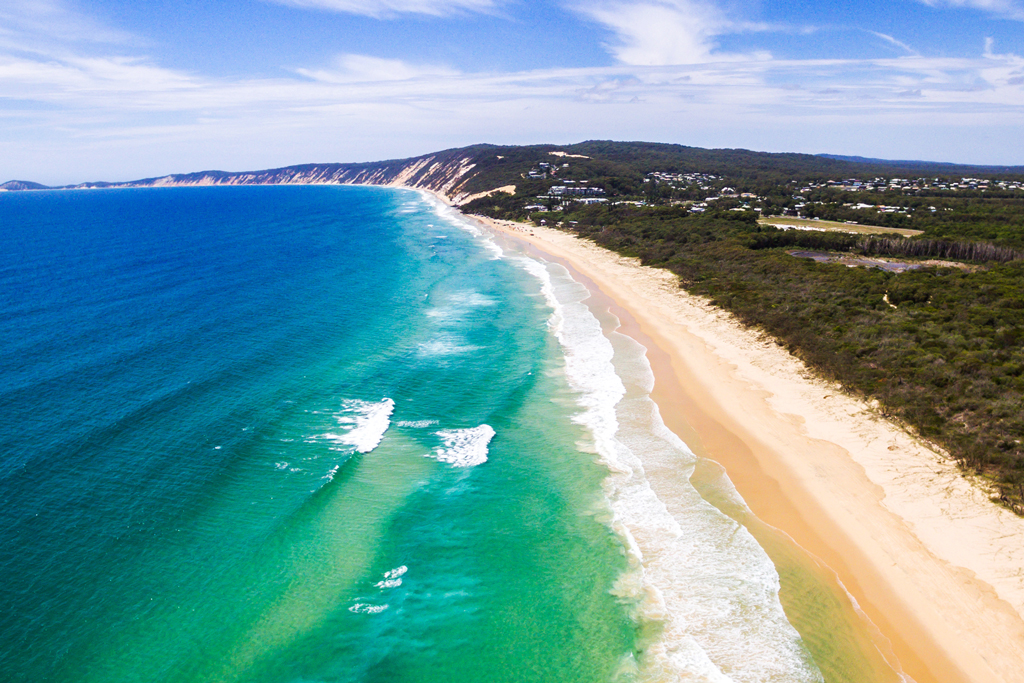 Rainbow-Beach-Aerial-View